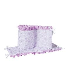 Another great find on #zulily! Grace Crib Bumpers #zulilyfinds