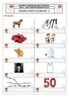 1.sınıf dikte çalışmaları örnekleri ile ilgili görsel sonucu Primary School, Grade 1, Booklet, Math, Reading, Toile, Upper Elementary, Math Resources, Reading Books