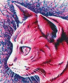 Kitty, Cat Cross Stitch Kit - Carissa Rose