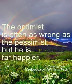 optimism pays