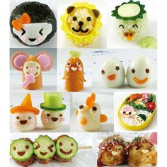 Amazon.com: Bento Box: Adorable Lunches Food Cutter Decoration Mold for Bento: Kitchen & Dining