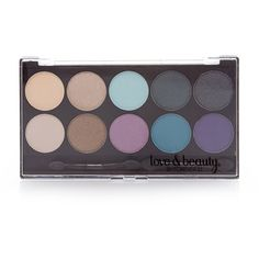 Forever 21 Eyeshadow Palette ($6.90) ❤ liked on Polyvore featuring beauty products, makeup, eye makeup, eyeshadow, beauty, forever 21 and palette eyeshadow