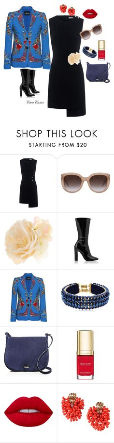 """""""Estilo Creativo"""" by carolinaca-i on Polyvore featuring Finders Keepers, Yves Saint Laurent, Accessorize, Tamara Mellon, Roberto Cavalli, Only Child, Céline Lefébure, Dolce&Gabbana, Lime Crime and Dsquared2"""
