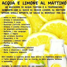 benefits of water lemon, lemon water, acqua e limone benefici, Wellness Fitness, Health And Wellness, Health Tips, Health Fitness, In Natura, Juice Plus, Green Life, Body Care, Health And Beauty
