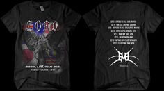 Digital LIVE Asia 2013 Tour T-Shirt  Buy direct from the band - http://www.lord.net.au/store