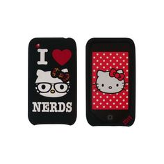 Hello Kitty iPhone Case ❤ liked on Polyvore