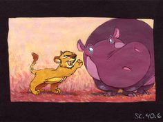 The Lion King Concept Art (Just Can't Wait to be King)