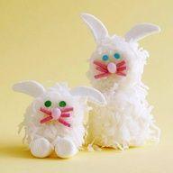 Easter Bunny Marshmallow Treats Recipe No diy