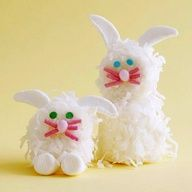 Easter Bunny Marshmallow Treats Recipe No diy