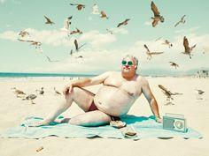 Man of the Beach / Dean Bradshaw | AA13 – blog – Inspiration – Design – Architecture – Photographie – Art