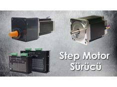Step motor, adım motorları olarak da adlandırılmaktadır. Adım kontrollerini açı değerleri üzerinden yürüten step motorları adım değerlinin hassasiyetle incelenmesi gereken projelerde kullanabilirsiniz.