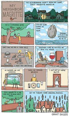 My Neighbor Magritte — Who Needs Art? — Medium