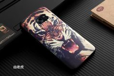 For Samsung Galaxy S7 Case Cover Slim 3D Stereo Relief Painting Back Covers Cartoon Silicon TPU Phone Protector Bag Cases Funda