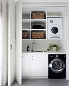 Innovative Laundry Rooms That Make the Most of Small Spaces