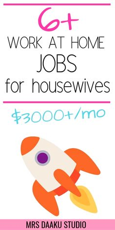 best online jobs for housewives & Make money online from home TODAY Want to work from home? Looking for the best online job for housewives sitting at home or wanting to return to work? Grab this list RIGHT NOW and get started [… Work From Home Companies, Online Work From Home, Work From Home Opportunities, Work From Home Tips, Earn Money From Home, Earn Money Online, Way To Make Money, Jobs For Housewives, Best Online Jobs