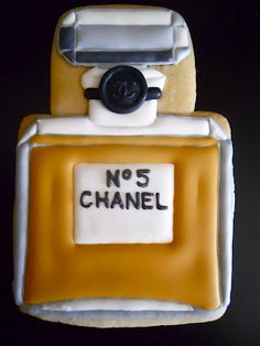 Chanel party cookies...I don't want to make these, just eat them :)
