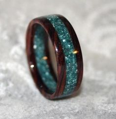 #gift ~ non-traditional wedding rings ~ http://www.weddingwindow.com/blog/non-traditional-wedding-rings/ Unique band# love it