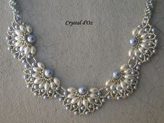 Les perles Crystal d'Oz: Pearl Filigree
