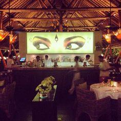 The beautiful bar area at Sardine - Seminyak, Bali