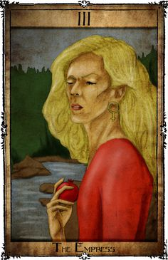 Bowie Tarot Collection - III - The Empress by Triever on DeviantArt