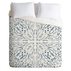 Iveta Abolina Indigo Maze Duvet Cover | DENY Designs Home Accessories