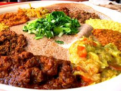 At Addis Ababa, the warm, welcoming staff and hearty food will make diners forget the lackluster exterior. Allow extra time after the meal for the communal coffee ceremony, one of the most important rituals of Ethiopian hospitality (Houston, TX)