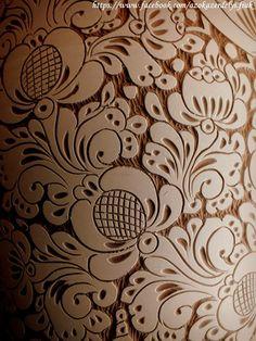 Hungarian folk art carving