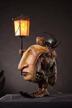 Fantasy   Whimsical   Strange   Mythical   Creative   Creatures   Dolls   Sculptures   ☥   Artiste : Anna Chulanova