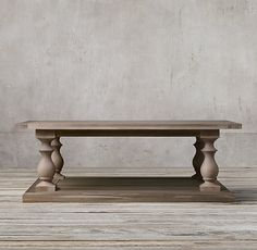 Our current #RestorationHardware coffee table 17th C. Monastery Coffee Table