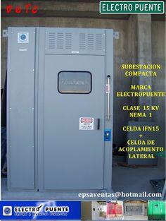 SUBESTACION COMPACTA CLASE 15 KV  NEMA 1 , FORMADA POR LAS SIGUIENTES SECCIONES  CELDA IFN 15 + CELDA DE ACOLPLAMIENTO LATERAL