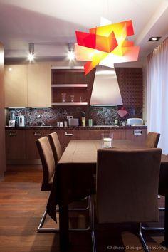 Modern Two-Tone Kitchen Cabinets #09 (Kitchen-Design-Ideas.org)