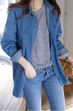 Package mail really making aversion of the funny Joker jeans autumn denim jacket long sleeves shirt decadent denim