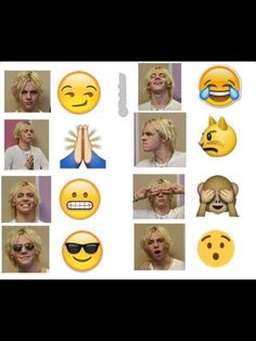Ross Lynch the human emoji