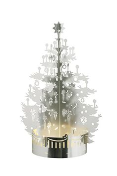 Tea Light Christmas Tree Silver ** More info could be found at the image url.