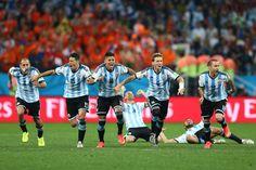 Holanda 0 (2) Argentina 0 (4) (Copa del Mundo Brasil 2014,Arena de São Paulo,São Paulo,09/07/2014)