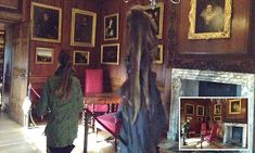Is this spooky apparition the Grey Lady of Hampton Court? For nearly 200 years she is rumoured to have haunted the corridors of Hampton Court.