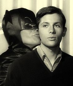 When you're feeling like expressing your affection - Tell me the truth about love. Batman and Robin #BatManAndRobin