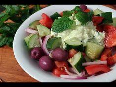 Salada grega - YouTube