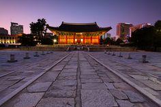 Seoul, Korea ... (Deoksugung Palace)