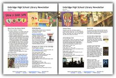 March Newsletter - semester 1 in the library, Youth Media Awards, events at the public library, and spring activities for Book and Anime Clubs