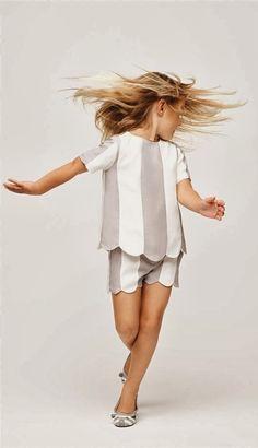 Fashion Kids, Little Girl Fashion, Outfits Niños, Kids Outfits, Summer Kids, Spring Summer, Summer 2014, Amusement Enfants, Little Marc Jacobs