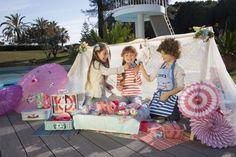 Llévate el set de té de picnic y disfruta con tus amigos #te #juguetes #niños #verano