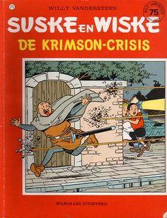 Suske en Wiske: De Krimson-Crisis (215): Als Lambik van een lange reis terugkomt, is zijn wereld helemaal veranderd. De bevolking wordt onderdrukt door robotten die door Krimson geleid worden. Lambik gaat met zijn vrienden in het verzet en ze roepen Vlaamse helden uit het verleden op om Krimson te verslaan. En ook hedendaagse beroemdheden komen helpen.