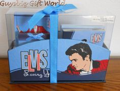 Elvis Presley Set Notebook,Memo Pad,Note Cards with Envelopes... ELVIS collectors! great gift or collectible