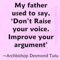 Don't Raise Your Voice   (Facebook)