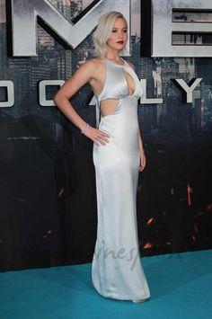 "Jennifer Lawrence en el estreno de ""X-Men: Apocalipsis"" en Londres"