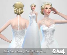 Nolan Sims here. I presented myself with the challenge of making a pretty long-sleeved lace dress, and i'm pretty happy with the results. And by demand, i've released it for download! It looks lovely...