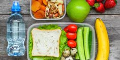 Don't get caught with the back to school stress. Try batching cooking before the beginning of the week and freeze leftover meals/ snacks for when you need them most. Good Healthy Recipes, Snack Recipes, Snacks, Healthy Lunches For Work, Fruit Box, Leftovers Recipes, Batch Cooking, Dietitian, Cobb Salad