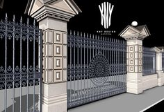 Decorative Metal Gates and custom gates, Decorative Fences and custom Fences, Railings - Interior and Exterior, Custom Balconies, Decorative Doors, Decorative Window Guards Kny Design products have proven their quality particularly in modern architecture and the interior areas of private facilities. Decorative Doors, Custom Gates, Metal Gates, Fence Design, Design Products, Lighting Solutions, Railings, Balconies, Glass Design