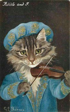 =^. ^= Cat Art =^. ^= ❤ ...By Artist GL Barnes...